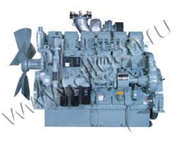 Дизельный двигатель Mitsubishi  S6B3-E2PTAA мощностью 340 кВт
