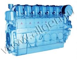 Дизельный двигатель Mitsubishi S6U-PTA мощностью 1293 кВт