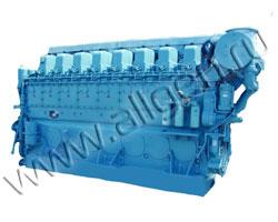 Дизельный двигатель Mitsubishi S8U-PTA мощностью 1706 кВт