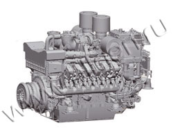 Дизельный двигатель MTU 12V4000G23R1E