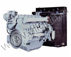 Дизельный двигатель Perkins 4006-23TАG2A