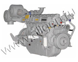 Дизельный двигатель Perkins 4008TAG