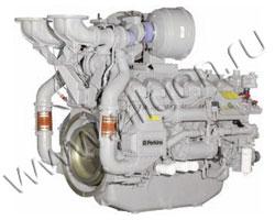 Дизельный двигатель Perkins 4012-46TWG2A мощностью 1166 кВт