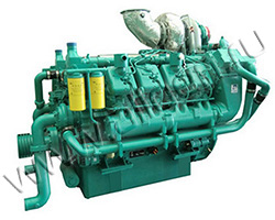 Дизельный двигатель TSS Diesel TDG 874 8VTE мощностью 961 кВт