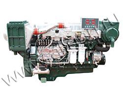 Дизельный двигатель TSS Diesel TDY 192 6LT мощностью 211 кВт