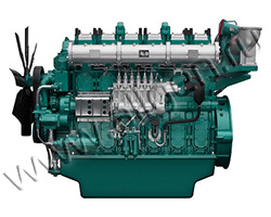 Дизельный двигатель TSS Diesel TDY 880 6LTE мощностью 968 кВт