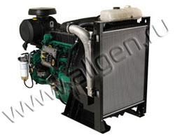 Дизельный двигатель Volvo TAD750GE мощностью 127 кВт