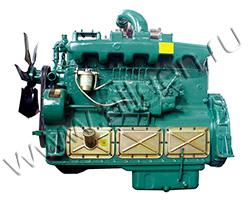 Дизельный двигатель Wuxi WD129TAD25 мощностью 284 кВт