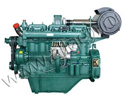 Дизельный двигатель Wuxi WD145TAD33L мощностью 507 кВт