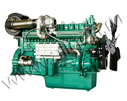 Дизельный двигатель Wuxi WD164TAD43 мощностью 473 кВт
