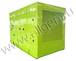 Дизельный генератор АД АД400-Т400-W в шумозащитном кожухе