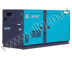 Дизель генератор Airman SDG125S мощностью 110 кВА (88 кВт) в шумозащитном кожухе