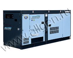 Дизельный генератор Airman SDG150S-3B1 (138 кВА)