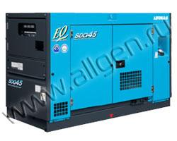 Дизель генератор Airman SDG45AS мощностью 41 кВА (33 кВт) в шумозащитном кожухе