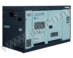 Дизельный генератор Airman SDG60AS-7A6 (44 кВт)