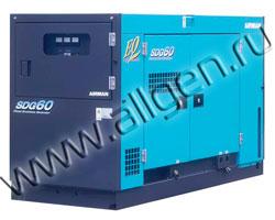 Дизельный генератор Airman SDG60S (44 кВт)