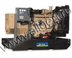 Дизель электростанция AKSA AC-150 мощностью 149 кВА (119 кВт) на раме