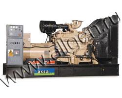 Дизельный генератор AKSA AC-650 (520 кВт)