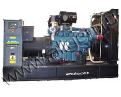 Дизельный генератор AKSA AD-275 (220 кВт)