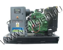Дизель электростанция AKSA AJD-110 мощностью 110 кВА (88 кВт) на раме