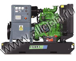 Дизельный генератор AKSA AJD-33 мощностью 26 кВт