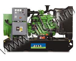 Дизель электростанция AKSA AJD-90 мощностью 90 кВА (72 кВт) на раме