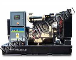 Дизель электростанция AKSA APD-110P мощностью 110 кВА (88 кВт) на раме