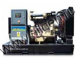 Дизель электростанция AKSA APD-150WD мощностью 150 кВА (120 кВт) на раме