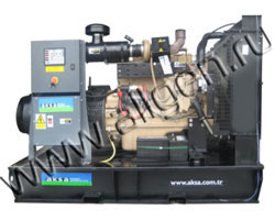Дизельный генератор AKSA APD-165P (132 кВт)