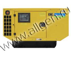Дизель генератор AKSA APD-23M мощностью 23 кВА (18 кВт) в шумозащитном кожухе
