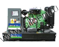 Дизель генератор AKSA APD-40A мощностью 40 кВА (32 кВт) на раме