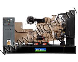 Дизель электростанция AKSA APD-412C мощностью 412 кВА (330 кВт) на раме