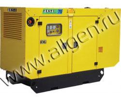 Дизель генератор AKSA APD-20A мощностью 20 кВА (16 кВт) в шумозащитном кожухе