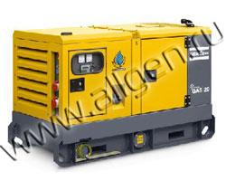 Дизельный генератор Atlas Copco QAS 20 мощностью 18 кВт