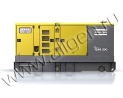 Дизельный генератор Atlas Copco QAS 200 FLX (220 кВА)