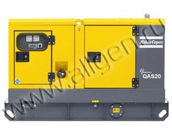 Дизельный генератор Atlas Copco QAS 20 FLX мощностью 18 кВт