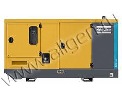 Дизель генератор Atlas Copco QES 100 мощностью 112 кВА (90 кВт) в шумозащитном кожухе