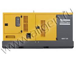 Дизельный генератор Atlas Copco QES 125 (132 кВА)