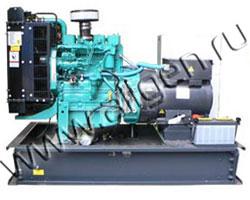 Дизель электростанция Ausonia PE0045SWD мощностью 50 кВА (40 кВт) на раме
