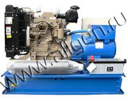 Дизель электростанция Ausonia PE0130SWD мощностью 145 кВА (116 кВт) на раме
