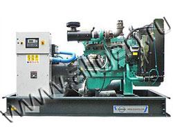 Дизель электростанция Ausonia CU0180SWD мощностью 200 кВА (160 кВт) на раме