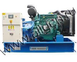 Дизель электростанция Ausonia VO0180SWD мощностью 200 кВА (160 кВт) на раме