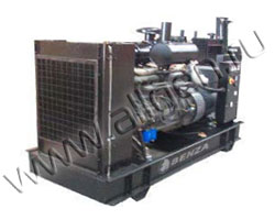 Дизель электростанция Benza BZ 145 WM-T5 мощностью 143 кВА (114 кВт) на раме