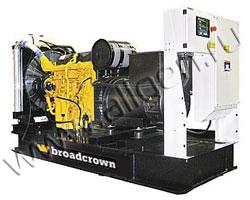 Дизельный генератор Broadcrown BCJD 440-50 (352 кВт)