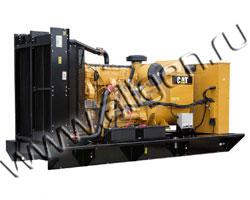 Дизель электростанция Caterpillar C-15 мощностью 400 кВА (320 кВт) на раме