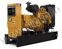Дизельный генератор Caterpillar DE7.5E3S мощностью 6 кВт