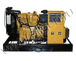 Дизельный генератор Caterpillar DE110E3 (110 кВА)