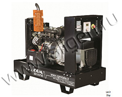 Дизельный генератор CGM v7.5LW на раме