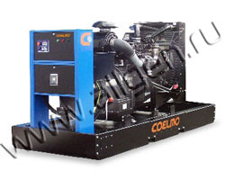 Дизель электростанция Coelmo PDT106c-ne мощностью 150 кВА (120 кВт) на раме