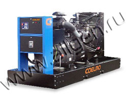Дизель электростанция Coelmo PDT116G2 мощностью 149 кВА (119 кВт) на раме